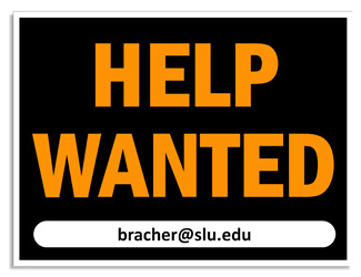 Bracher Lab Help Wanted